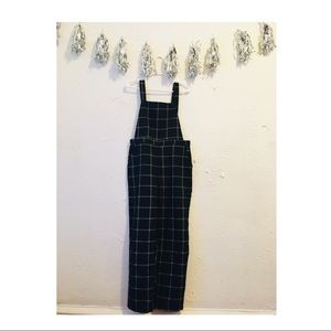 84adc0f87a6 Forever 21 Pants - Plaid overalls  like new!